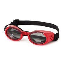 ILS Lense Dog Goggles in Shiny Red