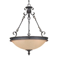 Bourges 5 Light Inverted Pendant