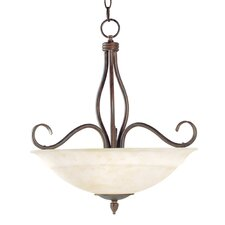Bryce 3 Light Inverted Pendant