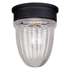 Jelly Jar Flush Mount