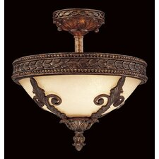 Modern Empire Semi Flush Mount