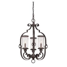Highlands 3 Light Foyer Pendant