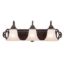 Cordoba 3 Light Vanity Light