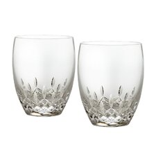 Lismore Essence Double Old Fashion Glass (Set of 2)
