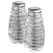 Beehive Salt and Pepper Shakers