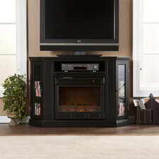 "Stuart 48"" TV Stand with Electric Fireplace"