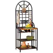 Heights Baker's Rack in Black