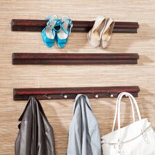 Beverly High Heel Shoe Storage Rails (Set of 3)