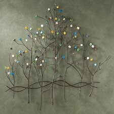 Kepler Gemstone Forest Wall Sculpture