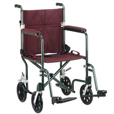 Deluxe Fly-Weight Transport Chair
