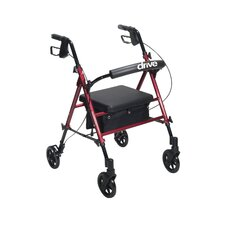 Aluminum Rollator with Universal Seat Height