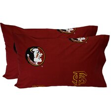 Florida State Seminoles King Pillow Case Set