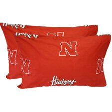 Nebraska Cornhuskers Pillow Case Set