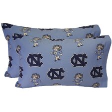 North Carolina Tar Heels Pillow Case Set
