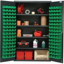 "48"" Wide Welded Storage Cabinet with 128 Ultra Bins"