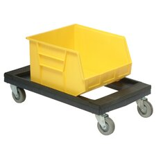 Plastic Dolly with Padded Rubber Ledge