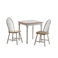 3 Piece Square Dining Set