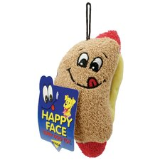 Terry Hot Dog Dog Toy