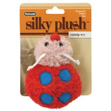 Red Lady Bug Catnip Cat Toy