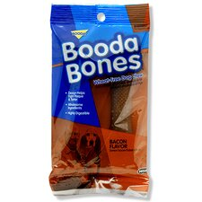 "7"" Bacon Flavor Big Booda Bones Dog Treat (2-Pack)"