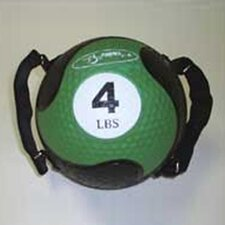 "Medballs With Straps 7.75"" in Green"
