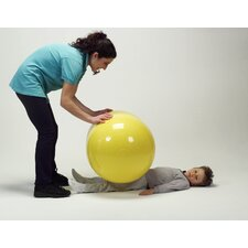 "22"" x 36"" Physio Roll Ball in Yellow"