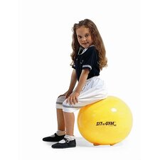 "18"" Sit 'n' Gym Ball in Yellow"
