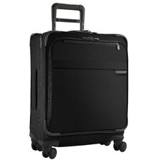 "Baseline International Carry-On 19"" Wide-Body Spinner Suitcase"