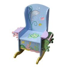 Under the Sea Potty Kid's Rocking Chair
