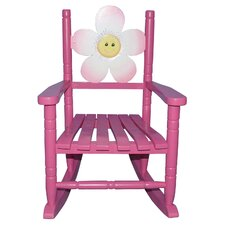 Flower Kid's Rocking Chair