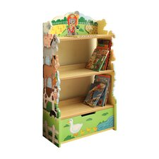 Happy Farm Room Wooden Bookcase