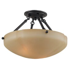 Century 2 Light Semi Flush Mount