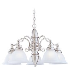 Canterbury 5 Light 100W Chandelier