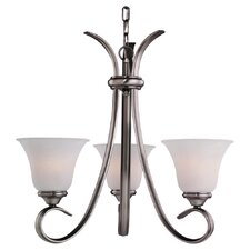 Rialto 3 Light 100W Chandelier