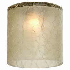Ambiance Transitions Crackle Directional with Mini-Glass Shade
