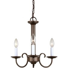 Holman 3 Light Candelabra Chandelier