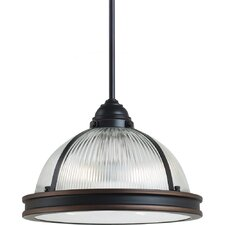 Pratt Street Prismatic 2 Light Pendant