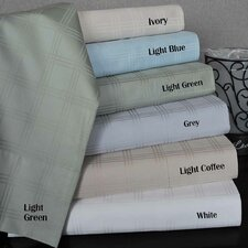 300 Thread Count Supima Cotton Checkered Sheet Set