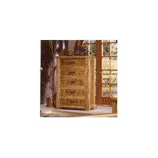Lodge 100 5 Drawer Chest