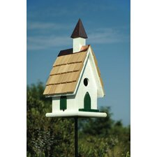 Country Church Bird House