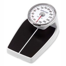 Large Raised Dial Scale, Black