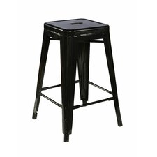 Square Metal Barstool