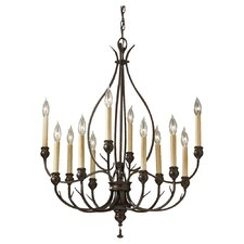 Emory 12 Light Chandelier