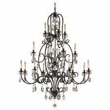 Salon Ma Maison 16 Light Chandelier