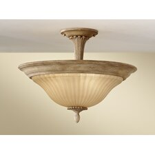 Blaire 3 Light Semi Flush Mount