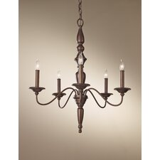 Yorktown Heights 5 Light Chandelier