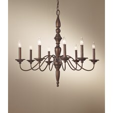 Yorktown Heights 8 Light Chandelier