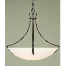 Boulevard 3 Light Inverted Pendant