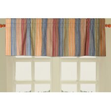 Katy Quilted Cotton Rod Pocket Tailored Valance