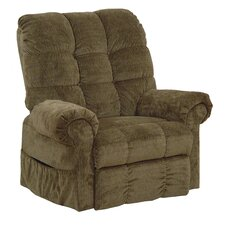 Omni Pow'r Lift Full Lay-Out Chaise Recliner in Thistle
